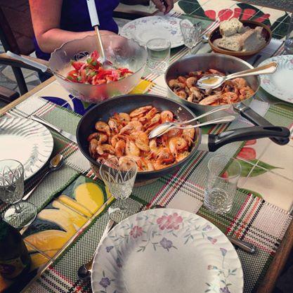 Scampis Südfrankreich selber kochen