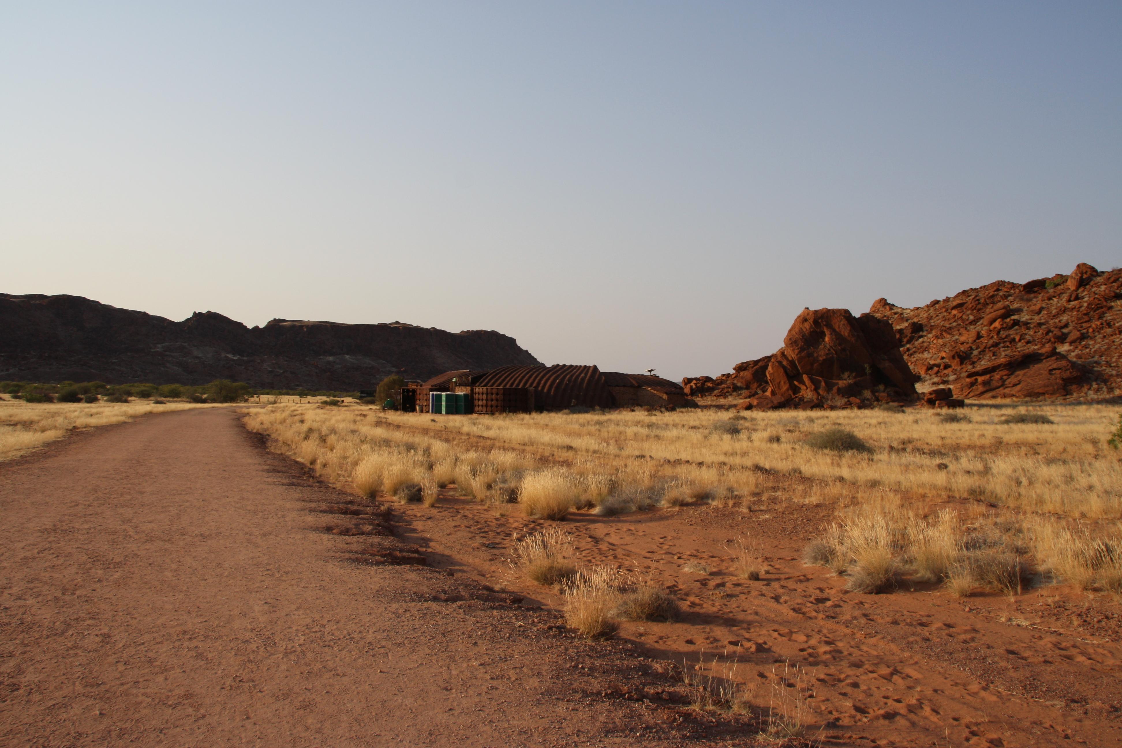 Felsgravuren Twyfelfontein Namibia