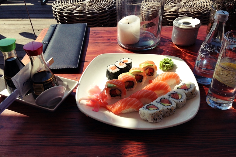 Sushi an der V&A Waterfront in Kapstadt