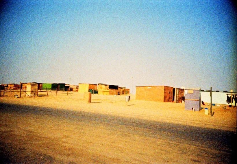 Häuser im Township in Swakopmund