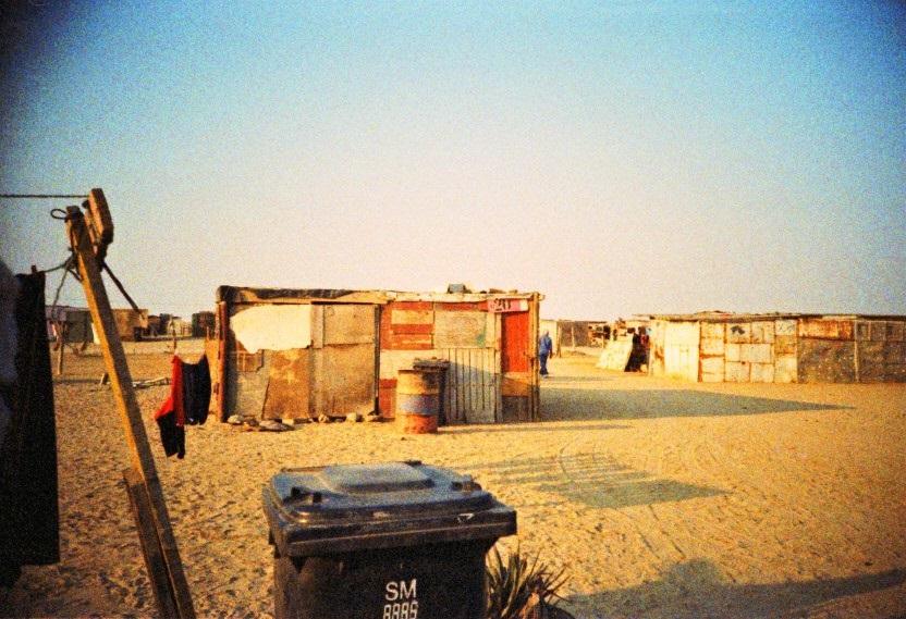 Wellblechhütten im Township von Swakopmund