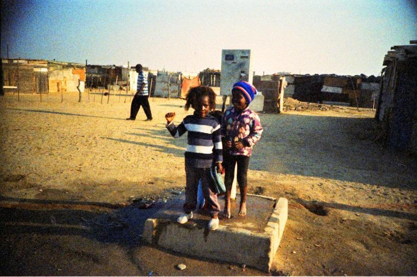 Kinder im Township Mondesa in Swakopmund