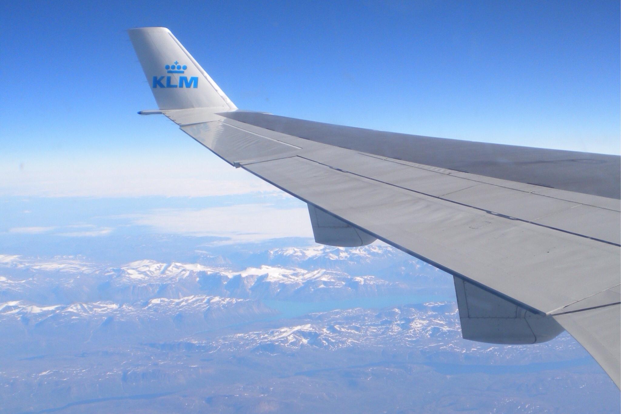 KLM Alaska Flugzeug