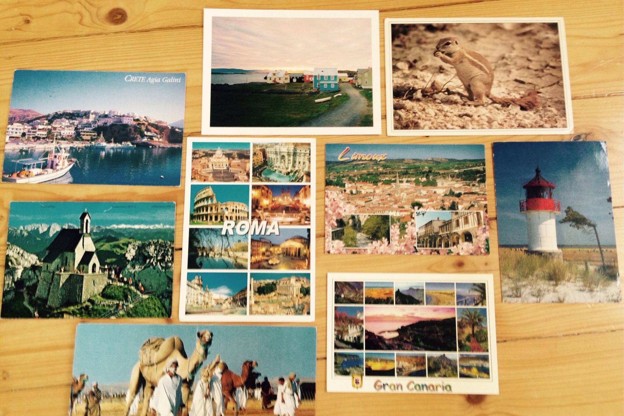 Die schönsten Postkarten