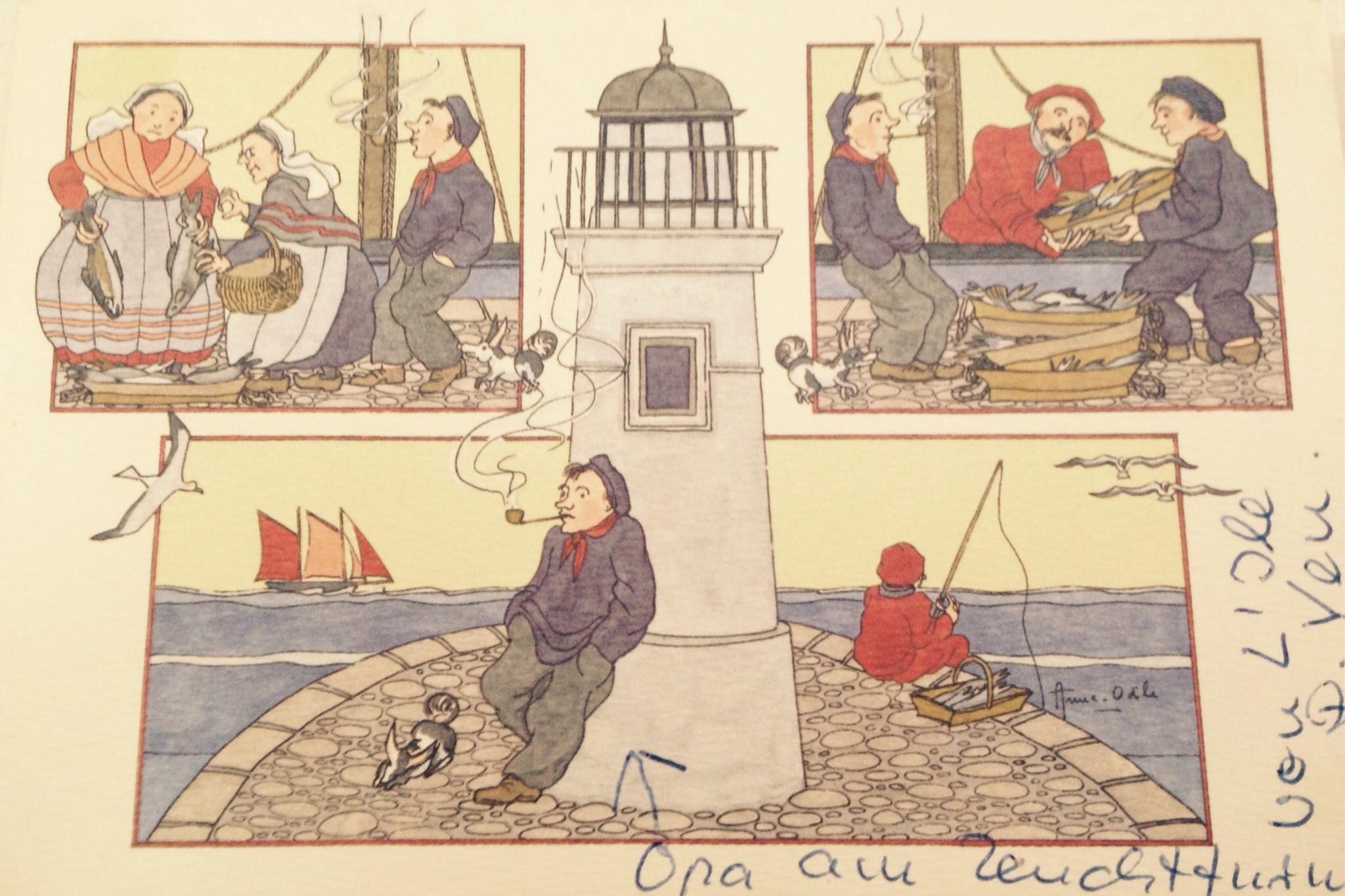 Postkarte von Oma
