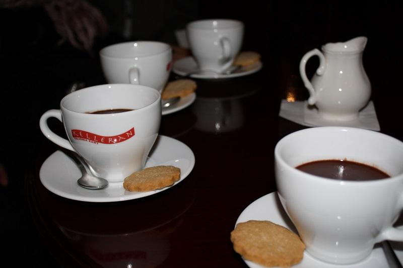 Heißer Kakao Kraukau