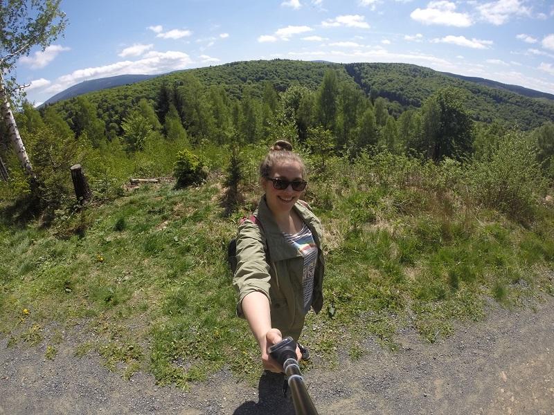 Aussicht Harz selfie Brocken