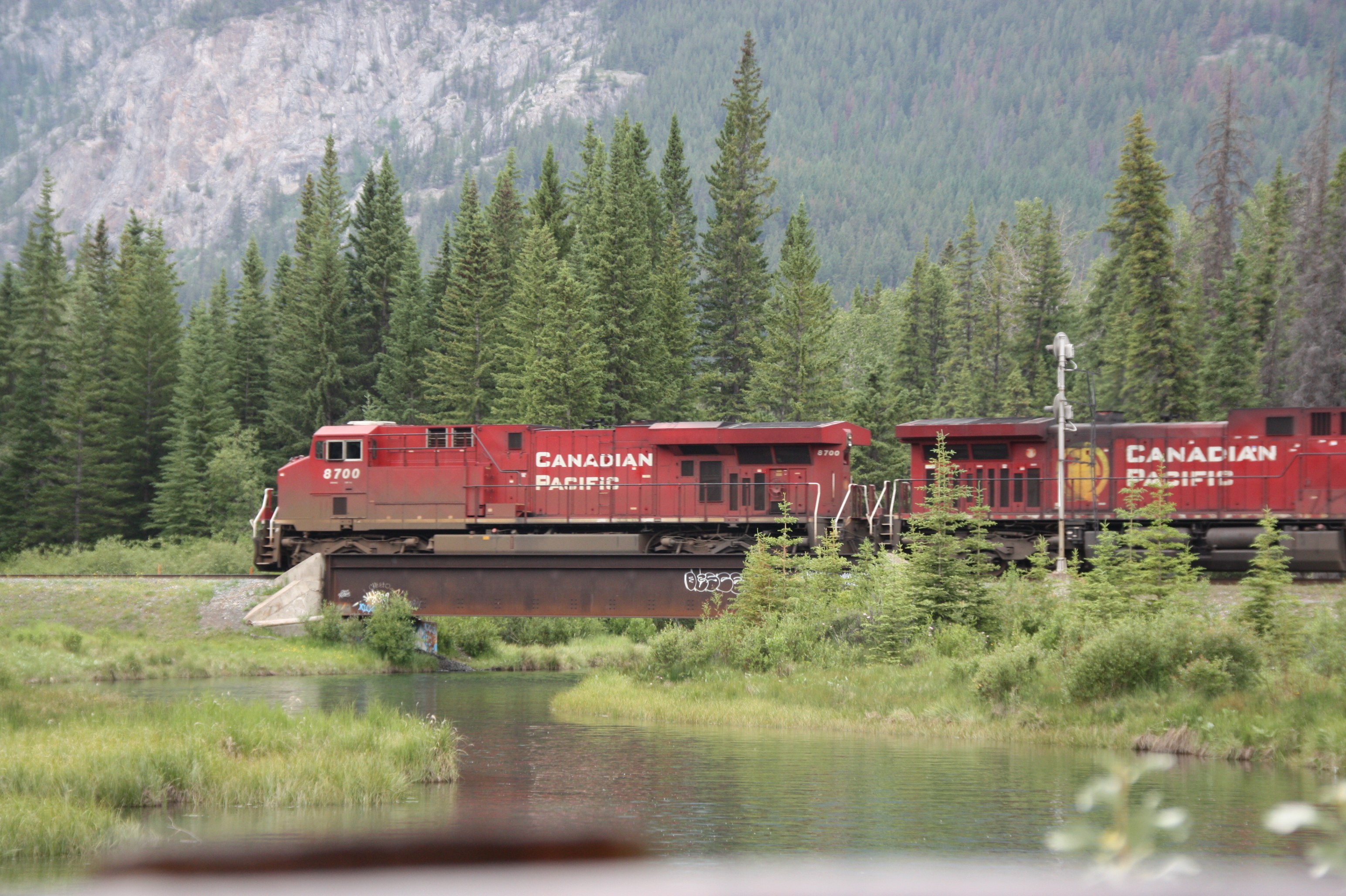 Canadian Pacific Eisenbahn Kanada Rocky Mountains