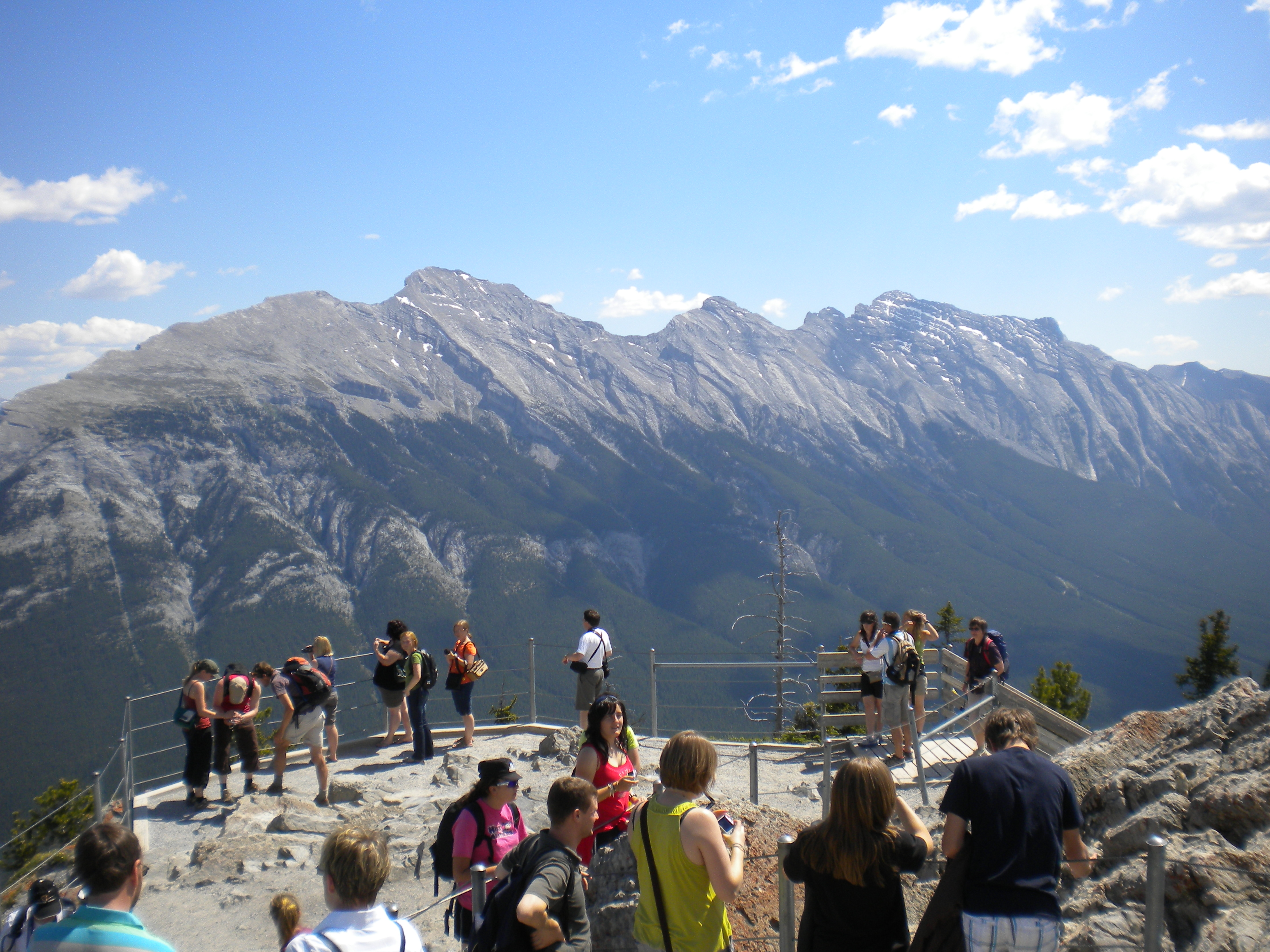 Banff Seilbahn Kanada Rocky Mountains