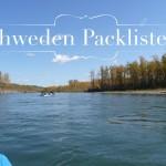 Schweden Packliste