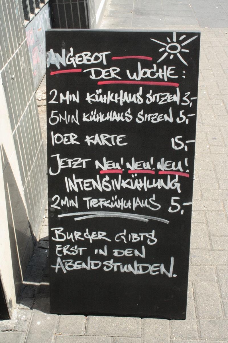 Freddy Schiller Burger Schild