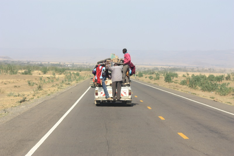 Transport a la Afrika Kenia