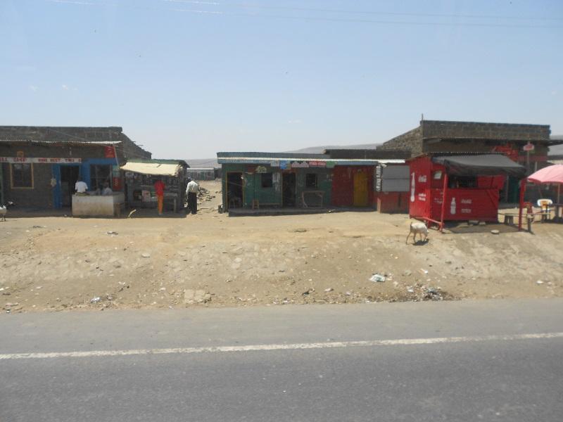 Straßenrand Kenia