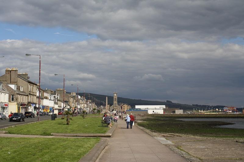 Uferpromenade von Helensburgh in Schottland