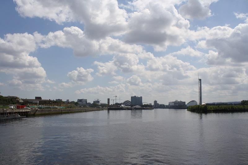 Skyline von Glasgow