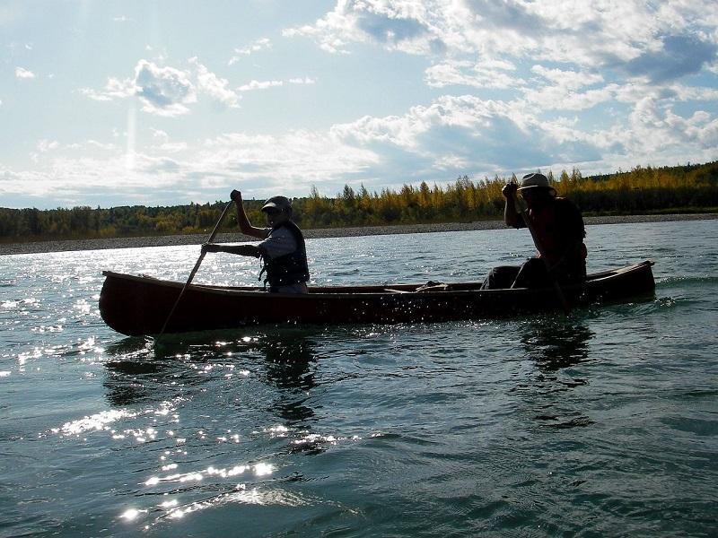 Paddeln, Kanu, Kanada, Schweden