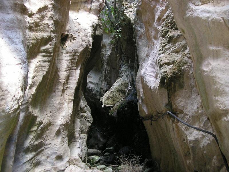 Schlucht im Norden Zyperns