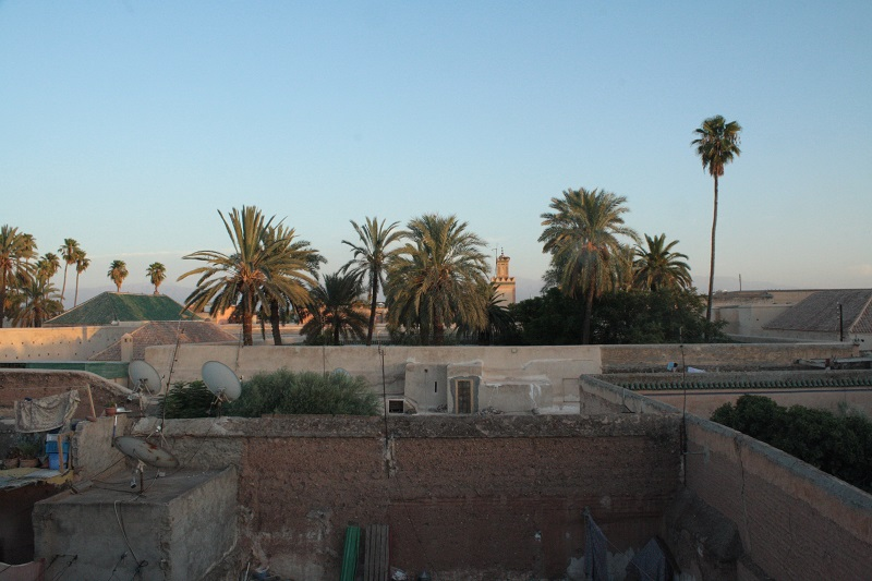 Riad les Oliviers, Marrakech, Rooftop