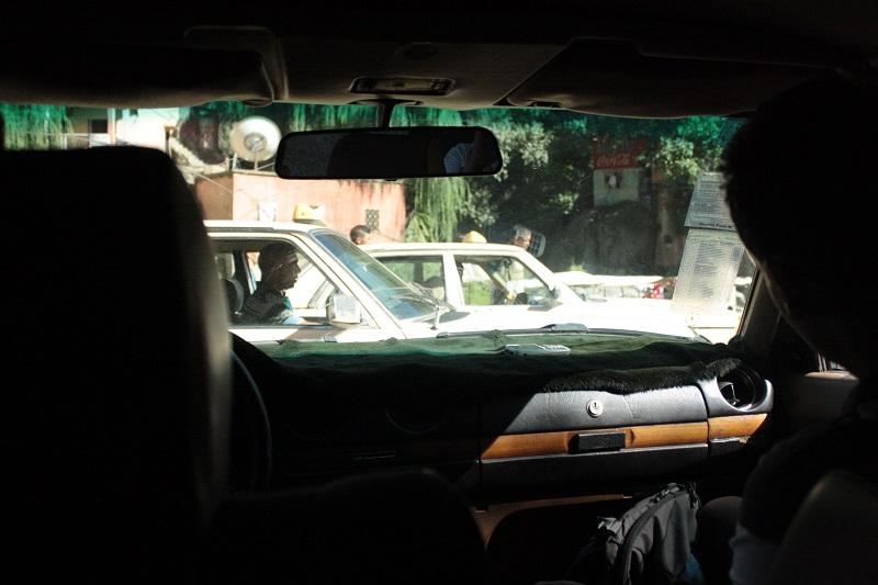 Verkehr Marrakech