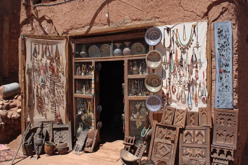 Waren Basar, Marokko