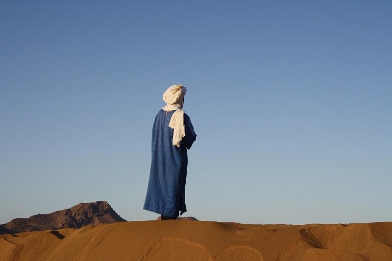 Beduine, Sahara, Zagora