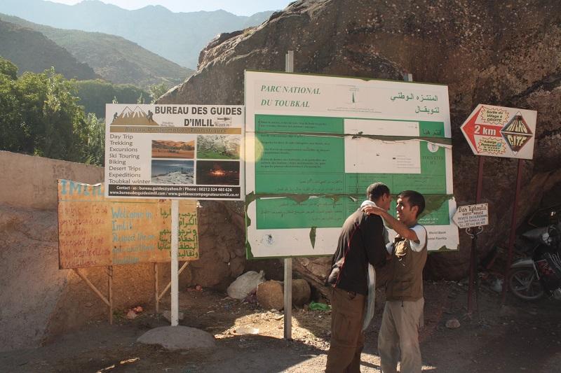 Imlil, High Atlas, Marokko