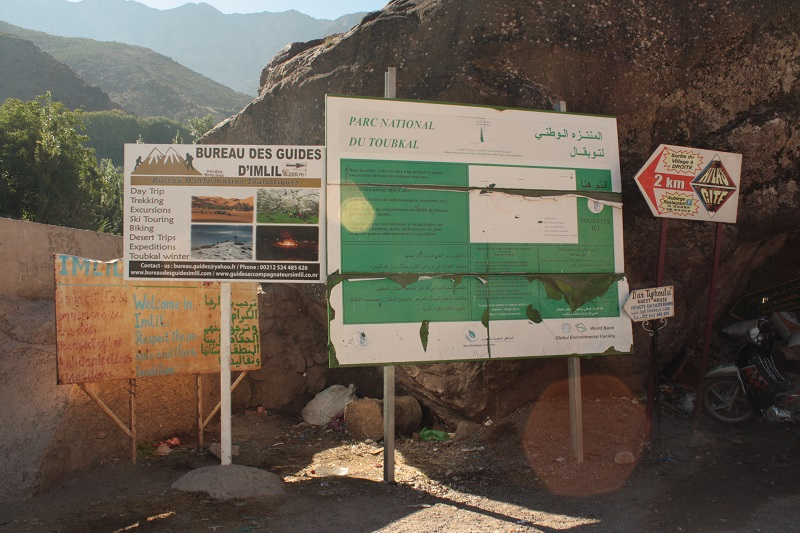 Imlil, Marokko, Trekking, Hoher Atlas
