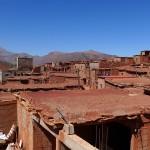 Auf Besuch in einem Berberdorf in Marokko