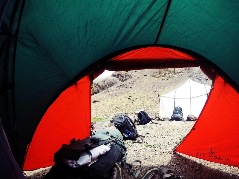 Nachhaltiges Reisen, Camping
