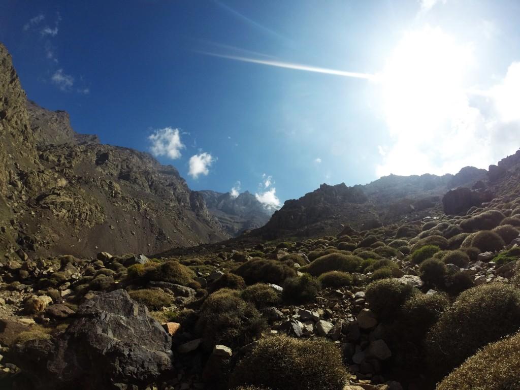 Es gilt einen Berg zu besteigen - Toubkal