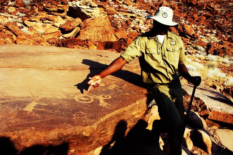 Nachhaltiges Reisen, Namibia, Twyfelfontein