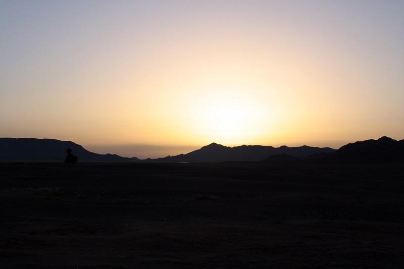 Sonnenaufgang Zagora, Wüste, Sahara