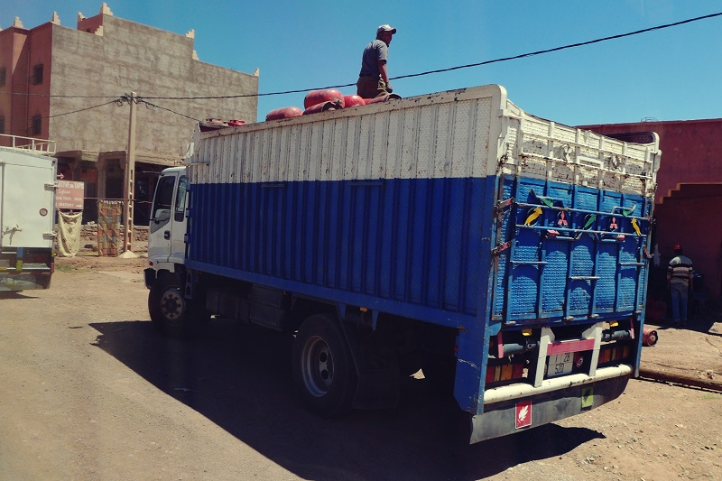 Verkehr Marokko, Zagora