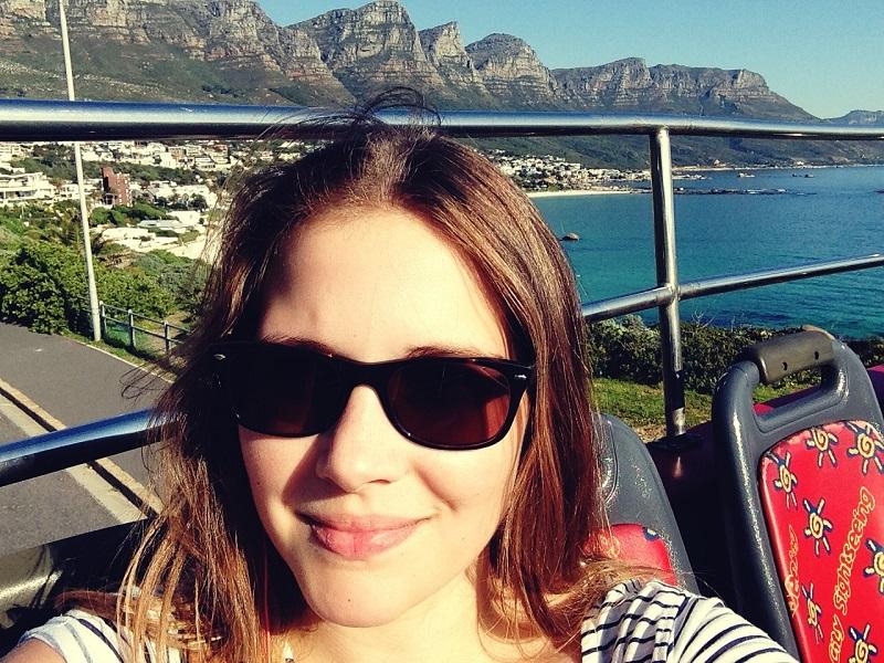 Kapstadt, Selfie, Alleine Reisen