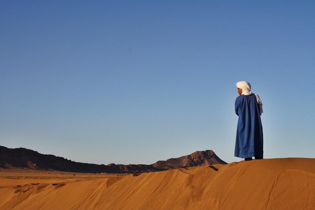 Wüstensand in Marokko