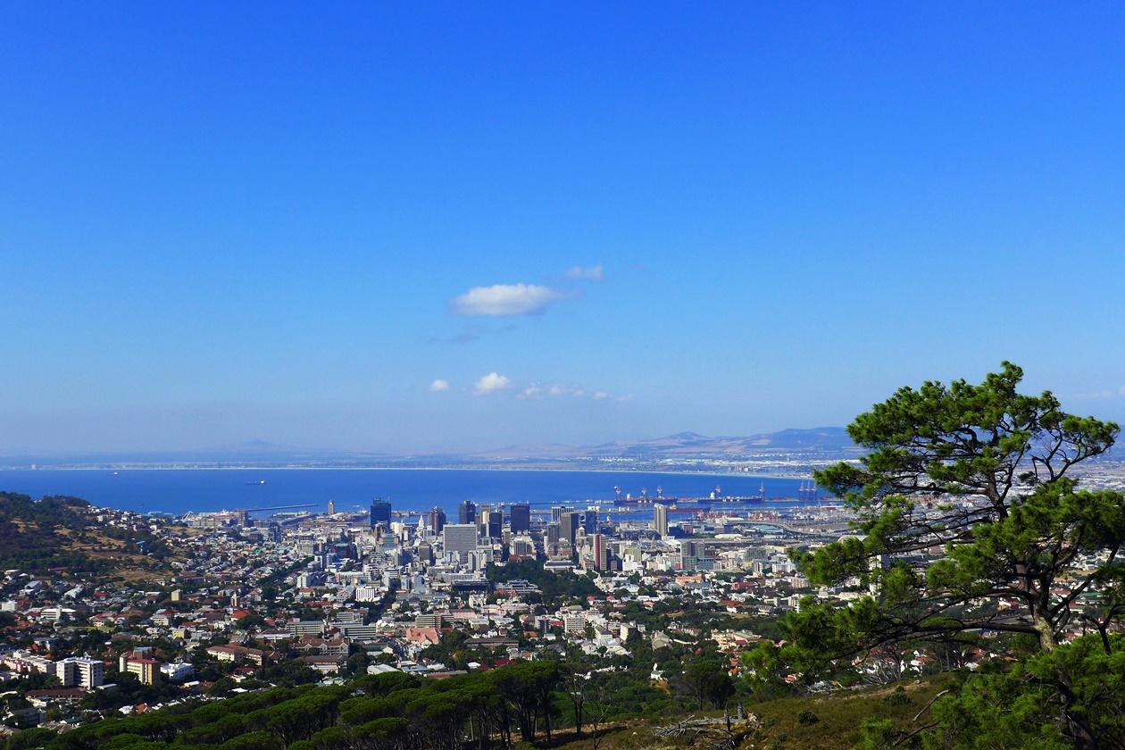 Blick auf die Skyline von Kapstadt