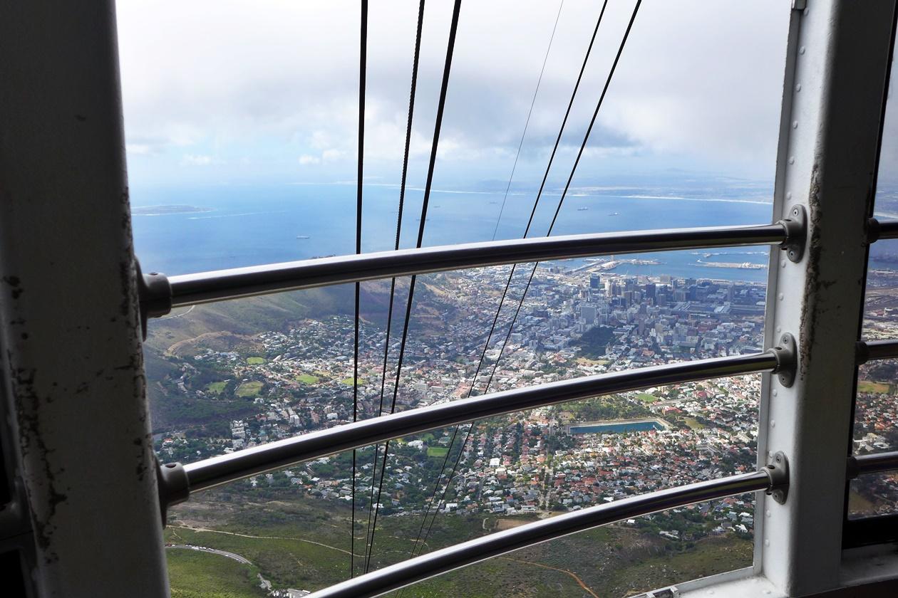 Seilbahn auf den Tafelberg in Kapstadt