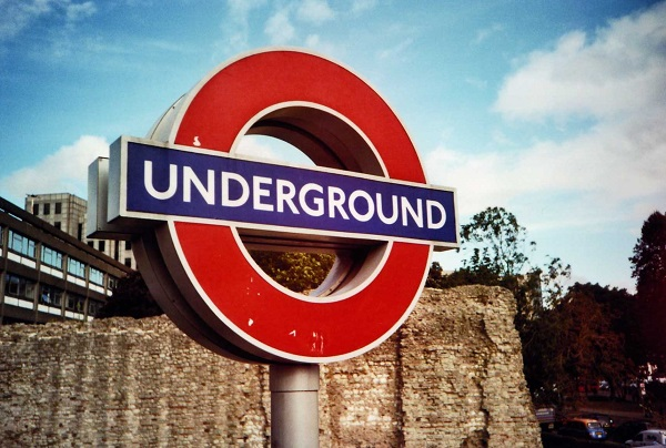 Eingang zum Underground in London