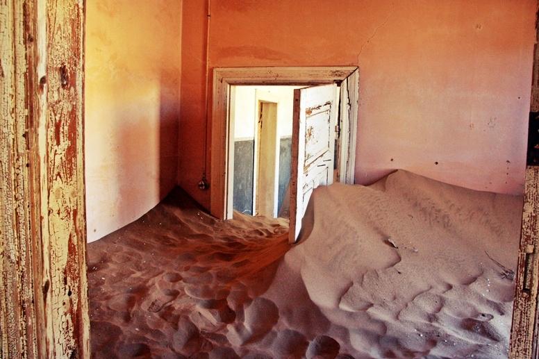 Kolmanskuppe die Geisterstadt bei Lüderitz in Namibia
