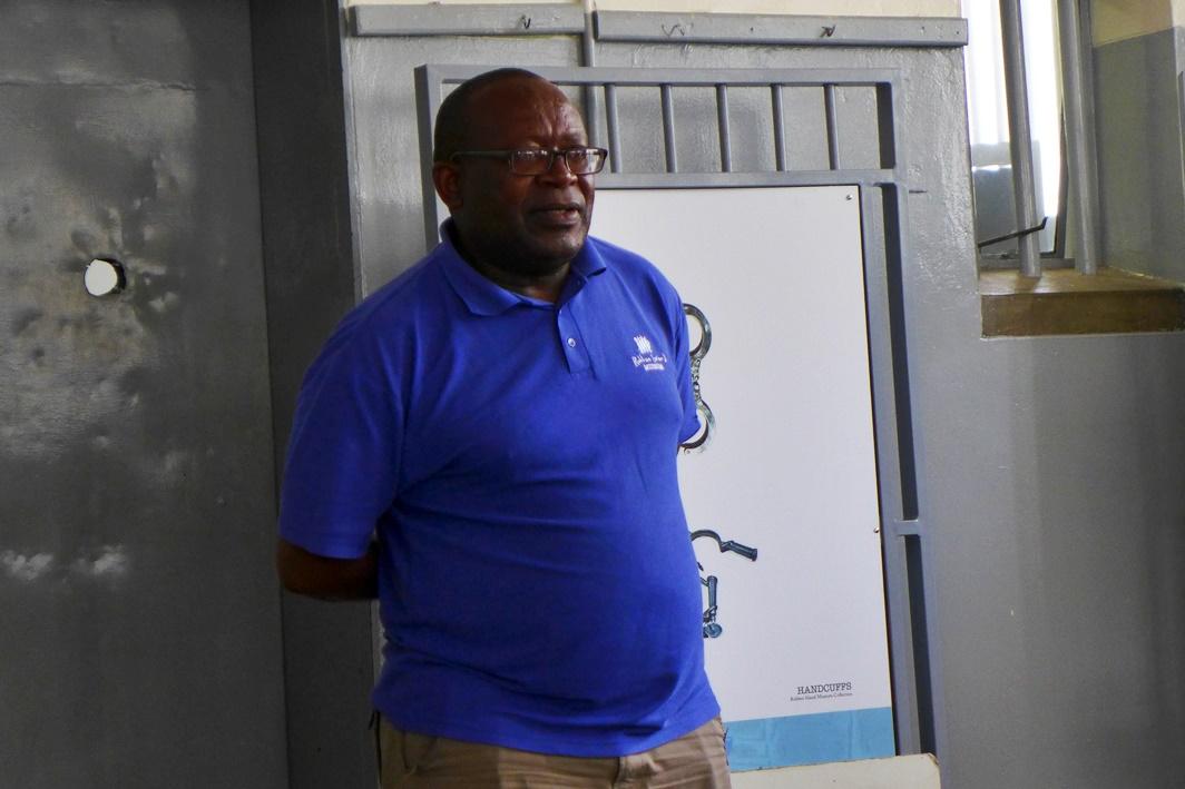 Führung auf Robben Island durch ehemaligen Häftling