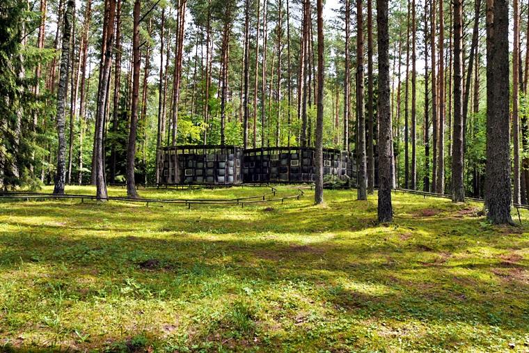 Skulpturen Park Europos Parkas in Lettland