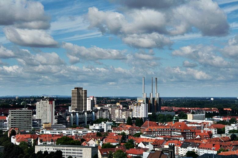 Hannover von oben, Linden