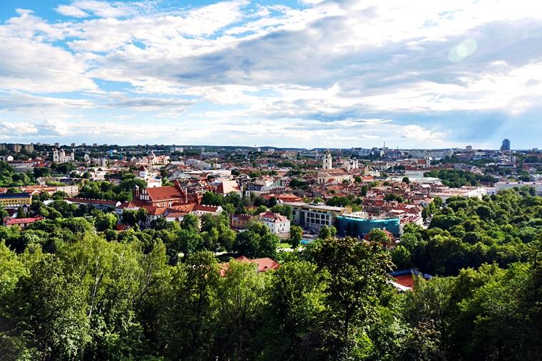Panorama-über-Vilnius-Litauen