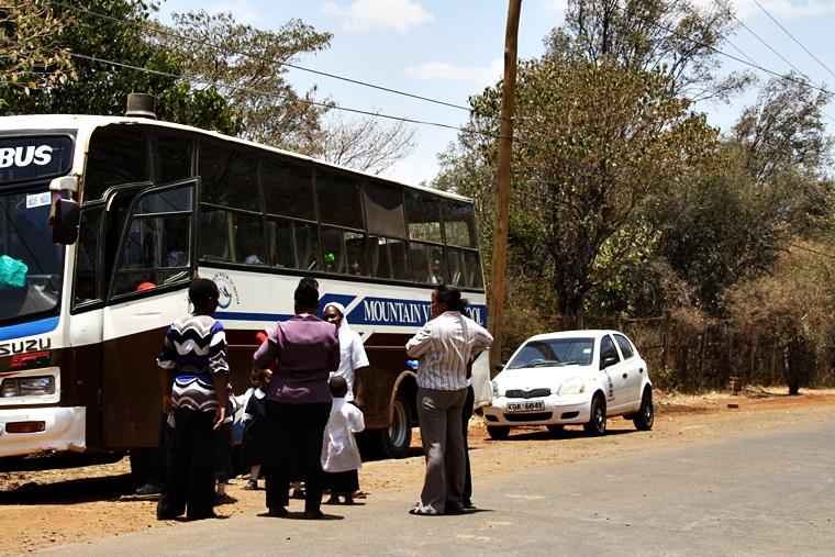 Lokaler Bus in Nairobi, Kenia