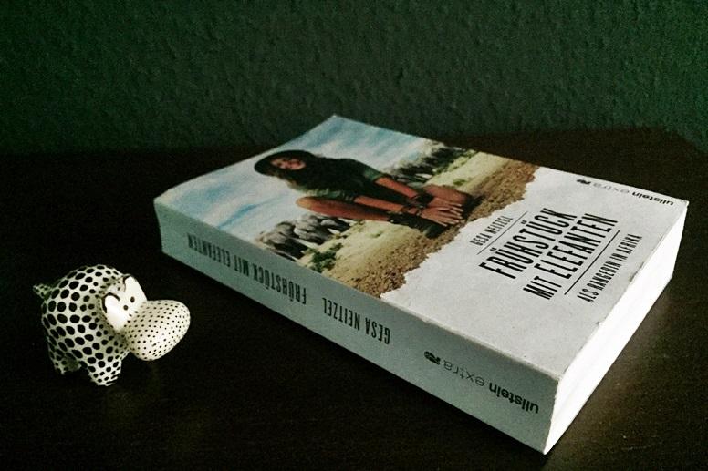 Cover zum Buch Frühstück mit Elefanten von Gesa Neitzel