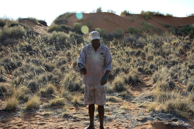 Francis-der-Guide-auf-dem-Bushmans-Walk