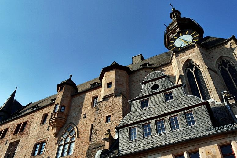 Blick auf das Marburger Schloss