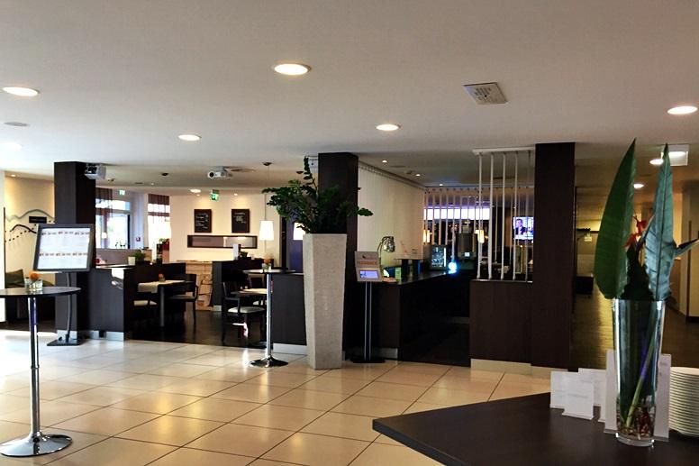 Eingangsbereich des Park Inn by Radisson Mainz