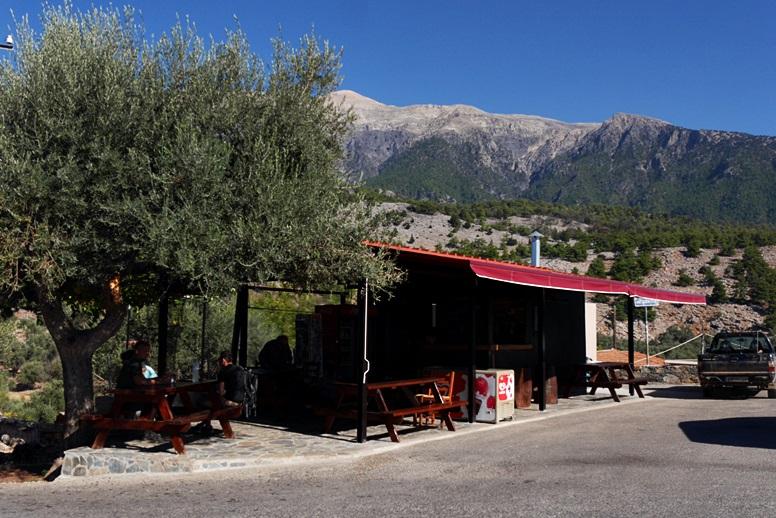 Wandern auf Kreta: Brücke nach Aradena