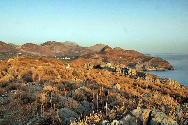 Wandern auf Kreta: Tolle Aussicht vom Hausberg von Plakias